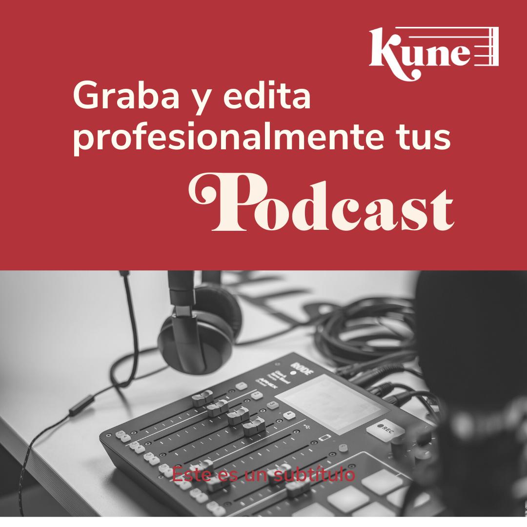 Grabación de podcast