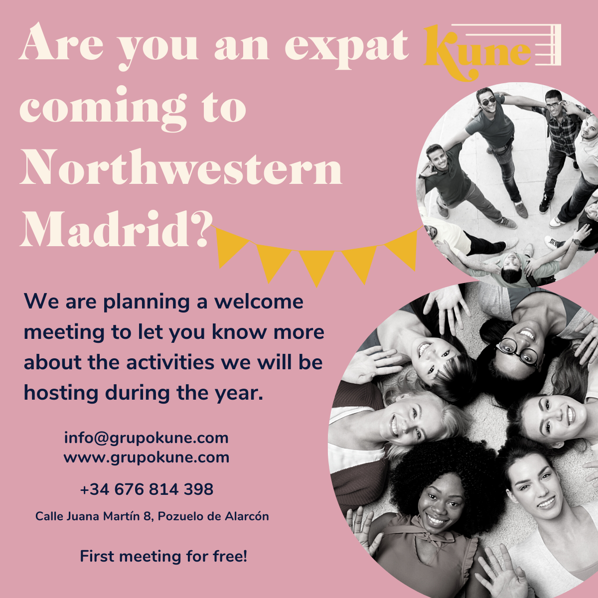 Meetings and workshops for expats