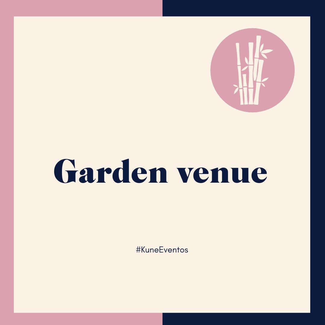 Jardín- Garden Venue