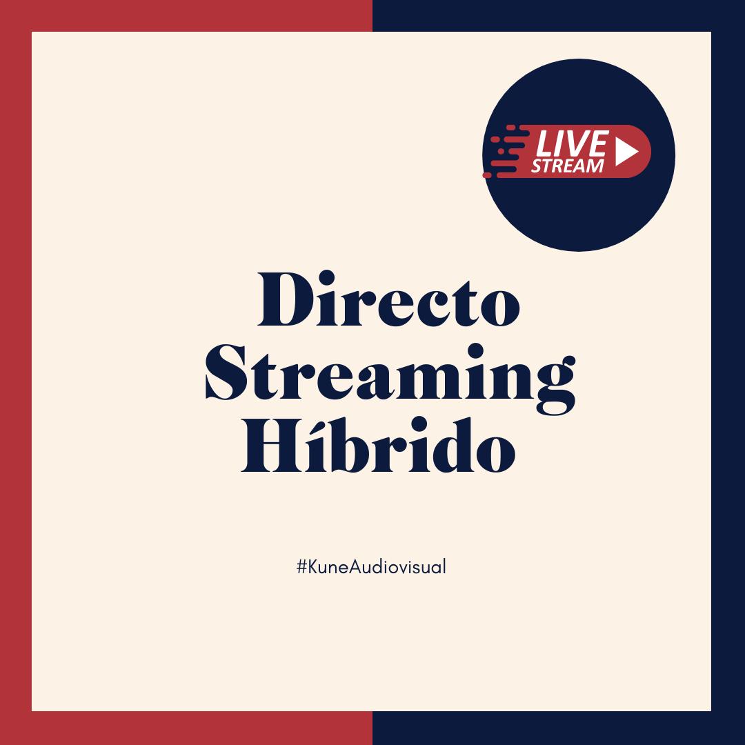 Directo, streaming y grabación